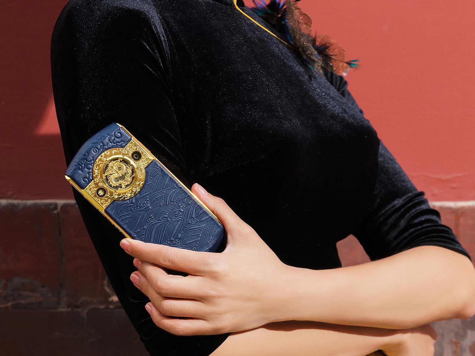 8848携手故宫打造朕的手机