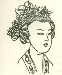 明朝女子发型_白雪公主和七个郭敬明图片