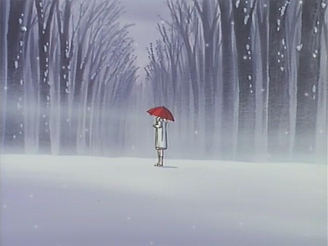 雪唯美伤感意境雪景