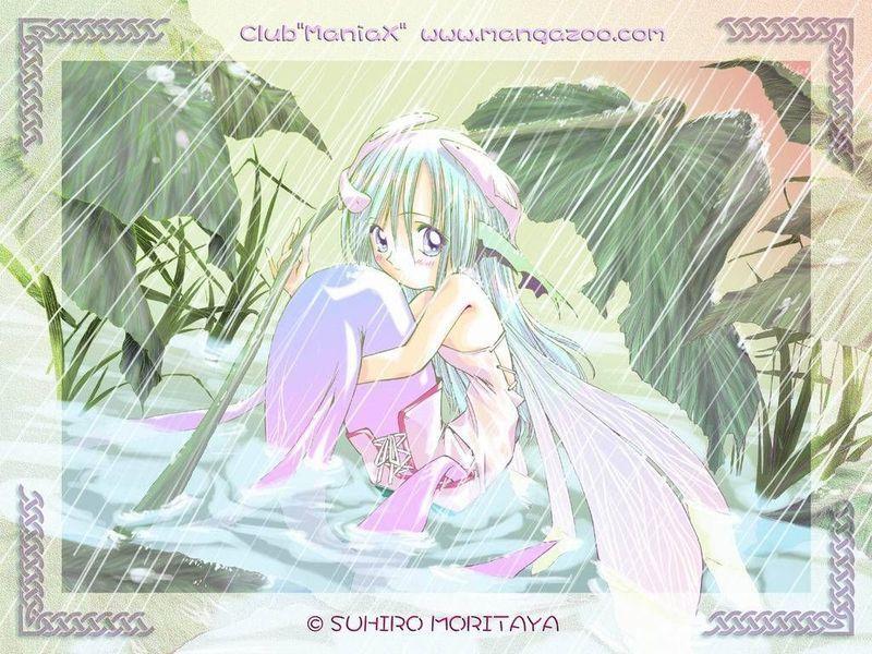 【图片】人鱼动漫女孩 真珠美人鱼吧