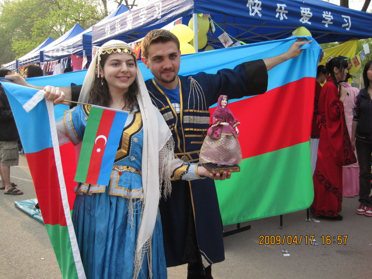 阿塞拜疆……在北语可以碰到不少阿塞拜疆的留学生