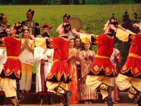 歌舞团中秋夜表演