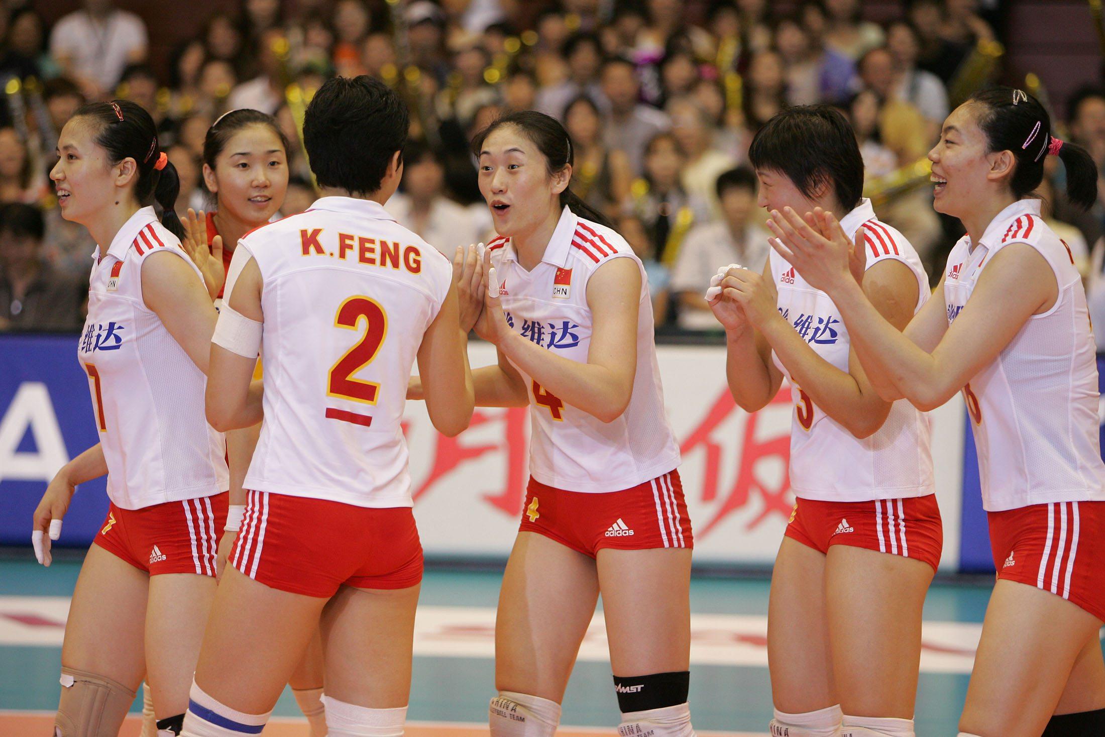 【心随昊动】2005世界女排奖赛杨昊超图