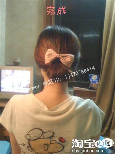 三十多种漂亮扎头发的方法 图示图片