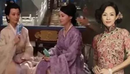 章子怡新剧路透照曝光