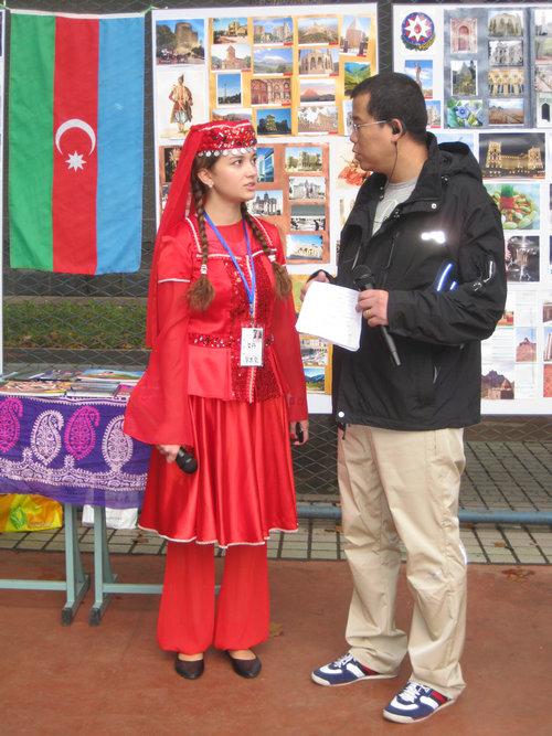 阿塞拜疆美女 吼吼 竖