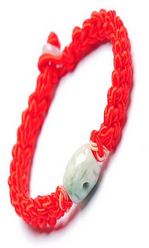 ... 红 绳 缠 法 戒指 上 缠 红 绳 图解 转运 珠 红 绳 编