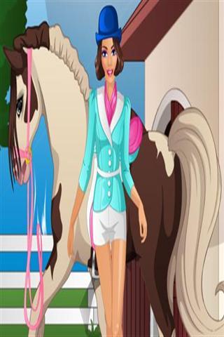 公主骑马装扮