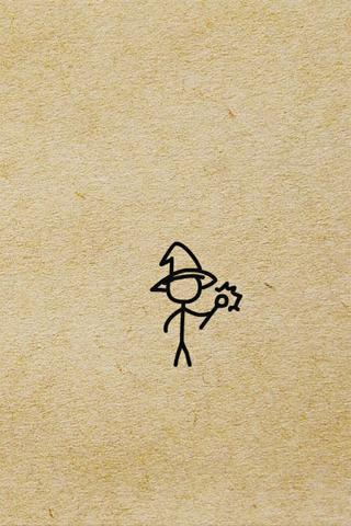 火柴棍小人动态图图片大全 小小 系列作品中的火柴棍小人图片