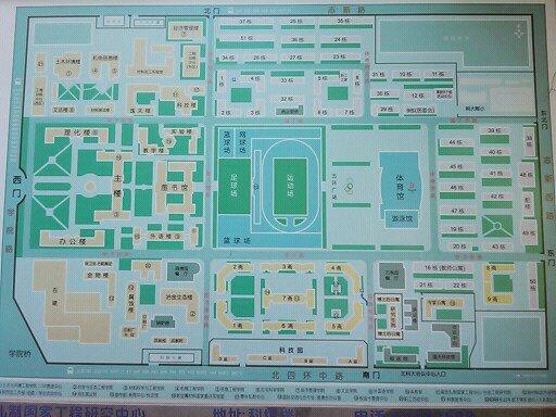 北京科技大学校园平面图-北科大平面图图片大全 北科平面图.jpg图片