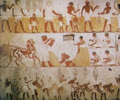 古埃及人的衣食住行 他们怎样生活