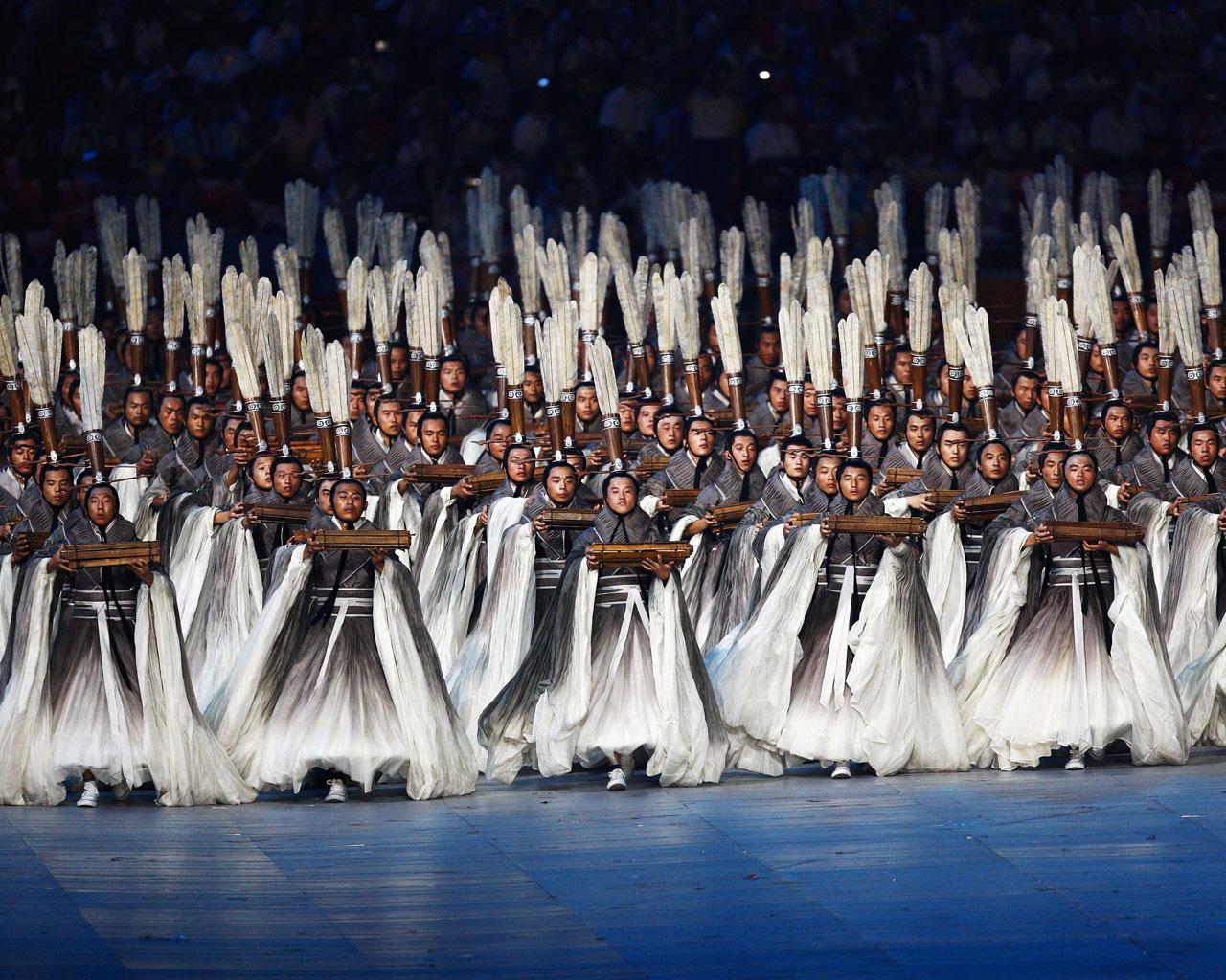 北京奥运会——灿烂文化 - 玉竹佳人 - 玉竹佳人的博客