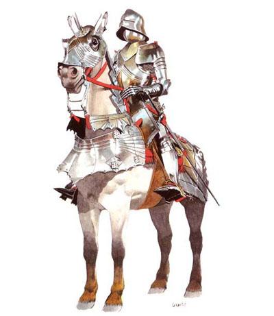 实的欧洲骑士铠甲