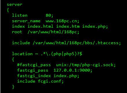Linux下nginx支持.htaccess文件实现伪静态的方法!