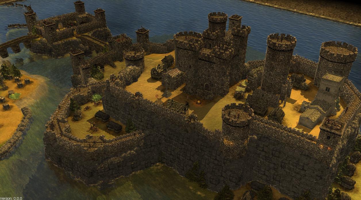 城堡么,也是石头砌的,虽然比不上巴黎的体面.但这种乡下地方,能高清图片