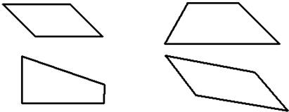 画出下面平行四边形和梯形的高,平行四边形标出底,梯形标出上底和下底图片