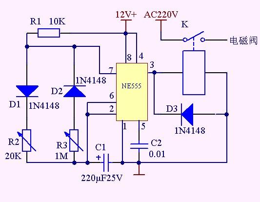 电磁阀接线图图片-空调接线图片电磁阀,康明斯熄火阀,图片