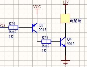 继电器控制电磁阀的电路图分享展示图片