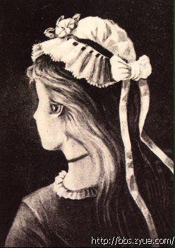 这张心理学图片当中巫婆在哪里