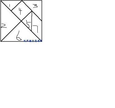 的平面图形拼成各种小动物,让学生猜一 利用七巧板如何拼成各种图
