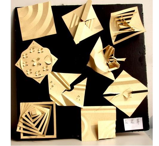 半立体构成折纸作业 - 7262图片网