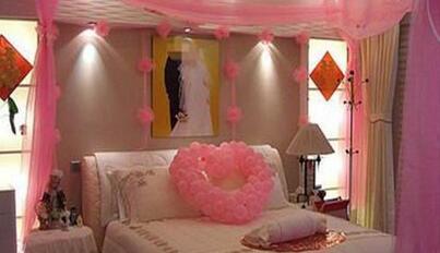 怎样布置婚房? 对于即将结婚的人们来说布置婚房极为重要.图片