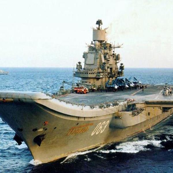 库兹涅佐夫号航空母舰