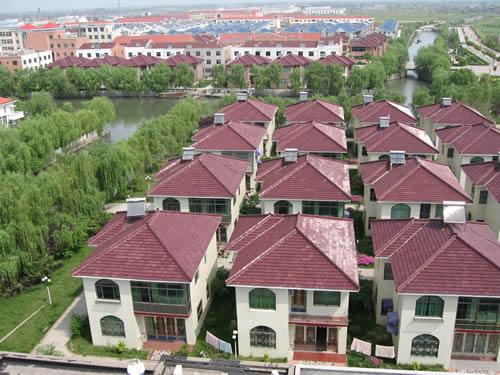 江苏兴化县张郭镇城区一角 9月18日摄 -介绍一下我的家乡啊 美丽的
