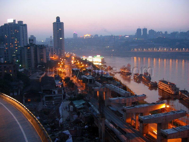 重庆山城图片图片大全 山城重庆的立交桥摄影图 山城图片