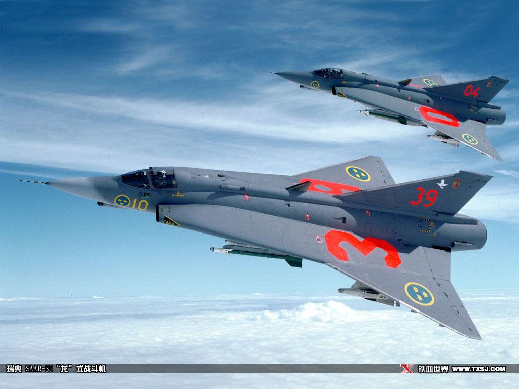 """x31喷式战斗机_瑞典SAABJ-35""""龙""""式战斗机_空军小金雕的空间_百度空间"""