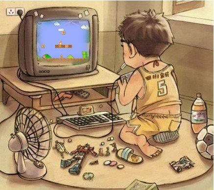 电视游戏机