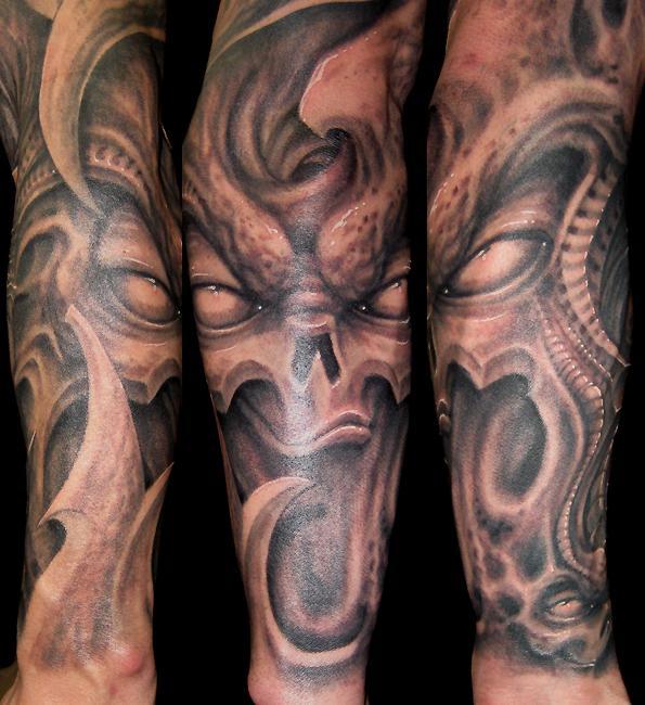 花旦紋身,小臂紋身,花臂紋身圖片