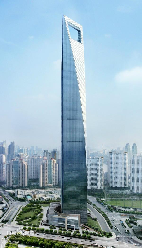 上海环球金融中心图片_百度百科