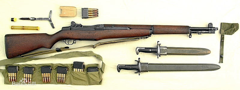 加德兰步枪图片_M1式加兰德步枪图片_百度百科