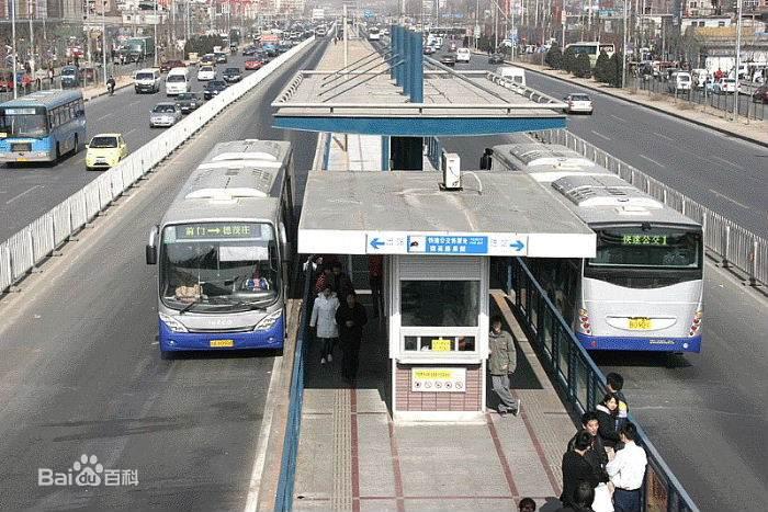 快速公交1号线_北京快速公交1号线图片_百度百科