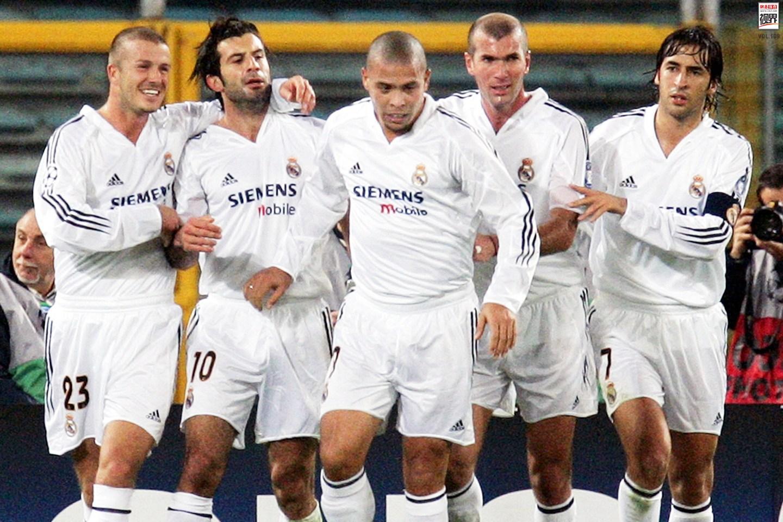 galactico),是指西班牙皇家馬德里足球俱樂部組建的豪華巨星陣容,因圖片