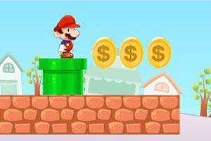 单人小游戏闯关版_马里奥收集金币3无敌版:是一款相当不错的单人闯关小游戏,无敌版中