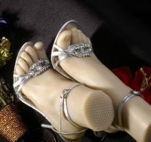 脚交_仿真硅交脚 模型   玉足 脚交制 模型   玉足 美甲道具3803; 玉足模型