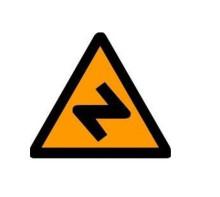 道路交通標志牌 橙色