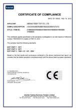 ce認證 證書