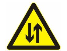 道路交通標志牌 黑色