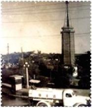 拍�z于1959年的二七塔老照片