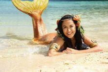 《美人鱼dyesebel》中的女主角,由菲律宾混血女星\