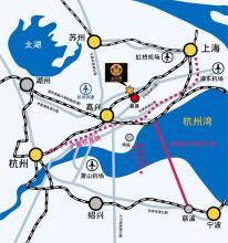 嘉善東鄰上海青浦,金山兩區,南連平湖市,嘉興市.圖片