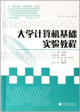 大学计算机实验总结_高等学校教材:大学计算机基础实验教程