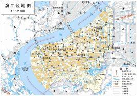 杭州市三维地图全图_杭州滨江区地图全图 _排行榜大全