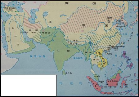 亚洲一�_下方是一幅遮住图例的地图,题为\