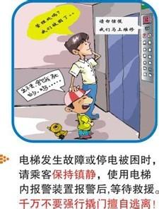 乘坐电梯小贴士_乘坐电梯时,如果电梯门没有关上就运行,这说明电梯有故障,乘客不要