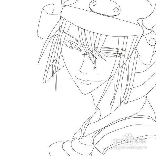 画日本动漫人物教程_画漫画人物教程_百度经验