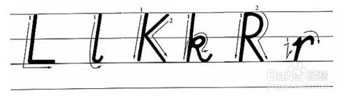 小�:�9�k�f_小学英语26个字母标准手写体教程